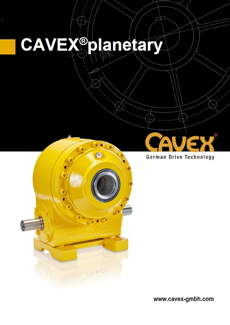 Catalogue CAVEX®planetary