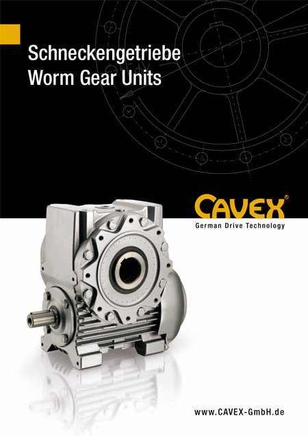 Catalogue Worm Gearboxes