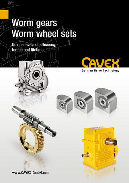 Brochure Worm Gearboxes / Worm Wheel Sets