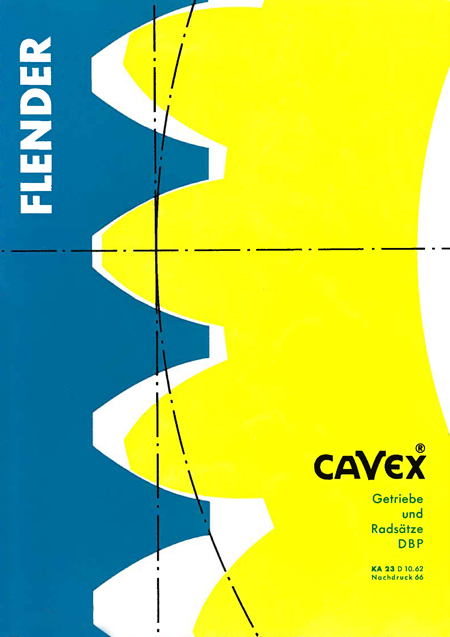 Catalogue FLENDER 1962