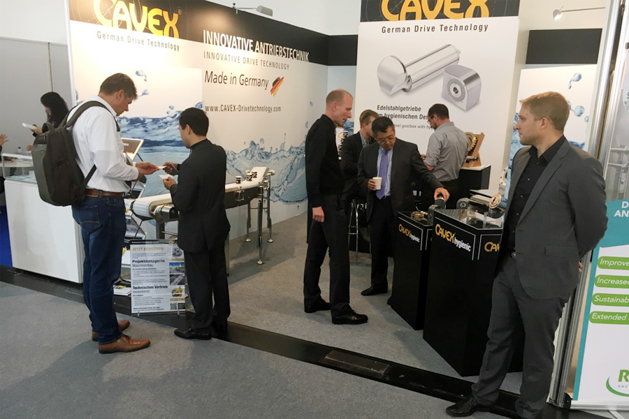 CAVEX® at der drinktec 2017