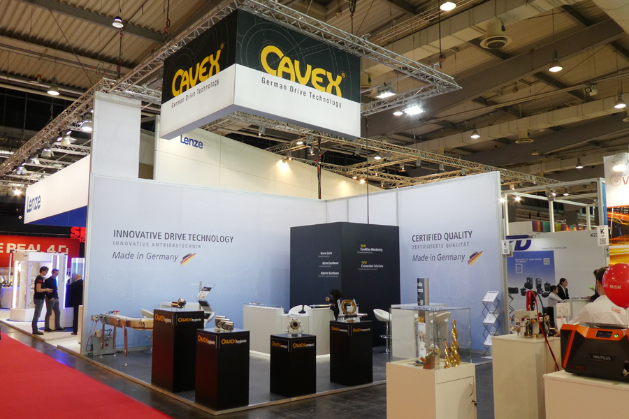 CAVEX® at the Hannover Messe 2018